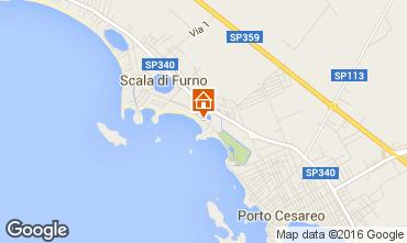Carte Porto Cesareo Appartement 97328
