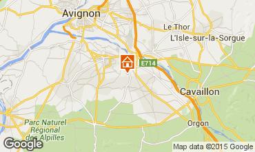 Carte Saint Rémy de Provence Maison 84879