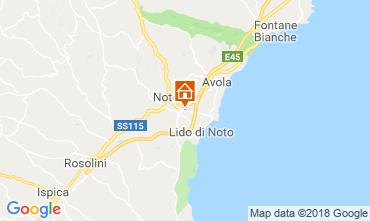 Carte Noto Villa 117251