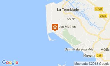 Carte La Palmyre Mobil-home 116002