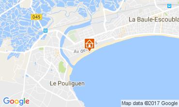 Carte La Baule Appartement 107669