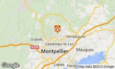 Carte Montpellier Villa 9206