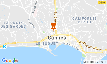 Carte Cannes Appartement 40957