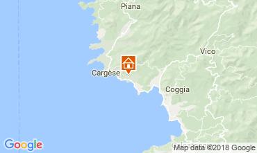 Carte Cargèse Villa 115547