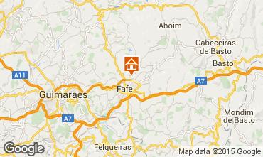 Carte Guimarães Gite 50906