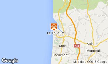 Carte Le Touquet Studio 38630