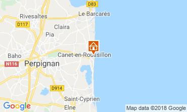 Carte Canet-en-Roussillon Appartement 109831