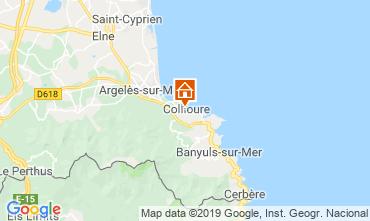 Carte Collioure Appartement 118439