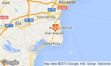 Carte Alicante Villa 77982