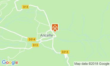 Carte Ancelle Chalet 116834