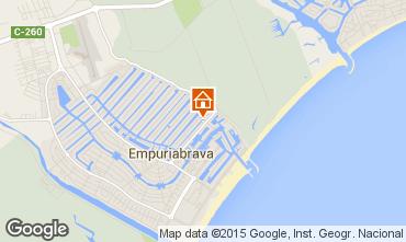 Carte Empuriabrava Villa 53410