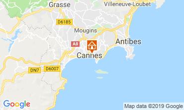 Carte Cannes Appartement 119042