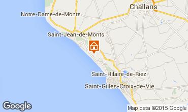 Carte Saint Jean de Monts Mobil-home 60835