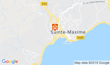 Carte Sainte Maxime Studio 74150