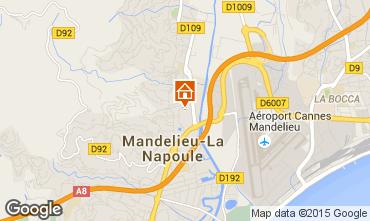 Carte Mandelieu la Napoule Appartement 83977