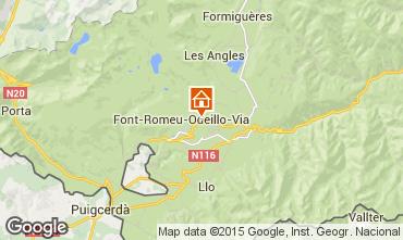 Carte Bolqu�re Pyren�es 2000 Appartement 3986