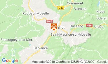 Carte La Bresse Hohneck Chalet 4531