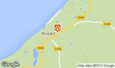Carte Wissant Gite 32131