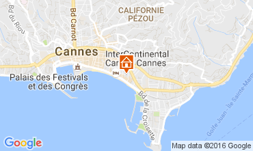 Carte Cannes Studio 87686