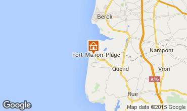 Carte Fort Mahon Appartement 91866