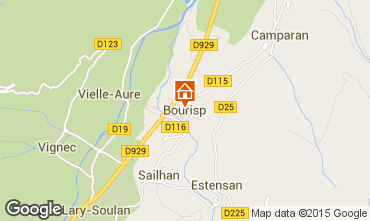 Carte Saint Lary Soulan Chalet 95699
