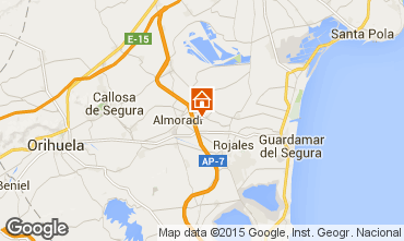 Carte Alicante Appartement 97224