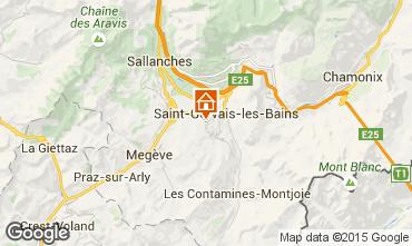 Carte Saint Gervais Mont-Blanc Chalet 68082