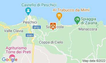 Carte Peschici Appartement 76980
