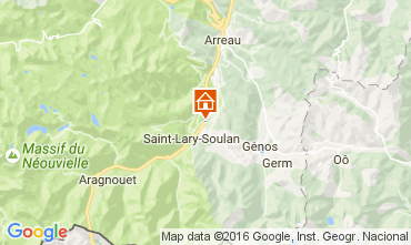 Carte Saint Lary Soulan Villa 81833