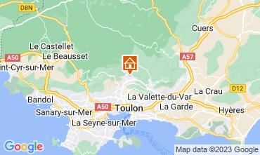 Carte Toulon Appartement 25566