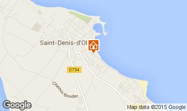 Carte Saint Denis d'Oléron Mobil-home 6954
