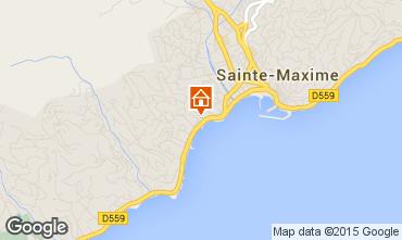 Carte Sainte Maxime Studio 95787