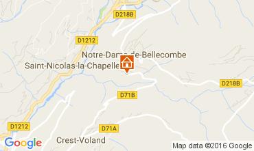 Carte Notre Dame de Bellecombe Appartement 2023