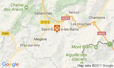 Carte Saint Gervais Mont-Blanc Studio 69949