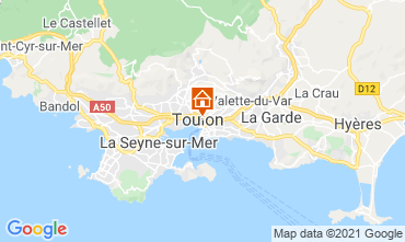 Carte Toulon Studio 92574