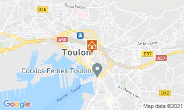 Carte Toulon Studio 92574