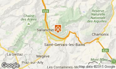 Carte Chamonix Mont-Blanc Chalet 651