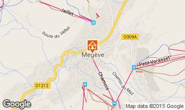 Carte Meg�ve Appartement 102165