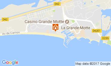 Carte La Grande Motte Studio 50620
