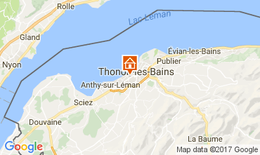 Carte Thonon Les Bains Studio 108306