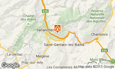 Carte Chamonix Mont-Blanc Chalet 649
