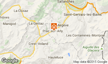 Carte Megève Chalet 99490