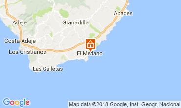 Carte El Medano Appartement 114545