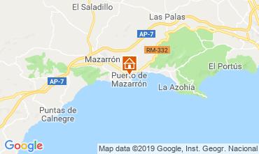 Carte Puerto de Mazarrón Appartement 118323