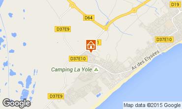 Carte Valras-Plage Villa 89478