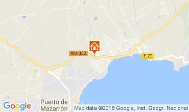 Carte Puerto de Mazarrón Villa 113062