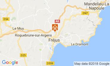 Carte Fréjus Mobil-home 114796
