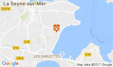 Carte La Seyne sur Mer Appartement 108988