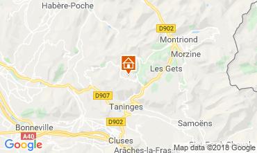 Carte Les Gets Appartement 117123