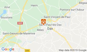 Carte Saint Paul les Dax Mobil-home 117704